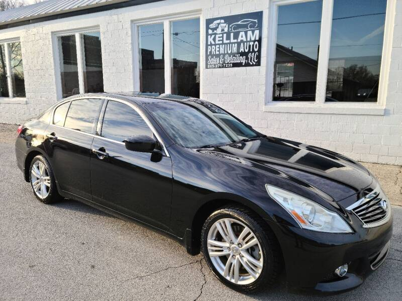 2013 Infiniti G37 Sedan for sale at Kellam Premium Auto Sales & Detailing LLC in Loudon TN