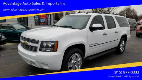2009 Chevrolet Suburban for sale at Advantage Auto Sales & Imports Inc in Loves Park IL