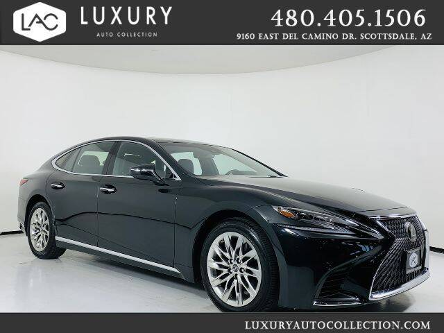 2019 Lexus LS 500 for sale at Luxury Auto Collection in Scottsdale AZ