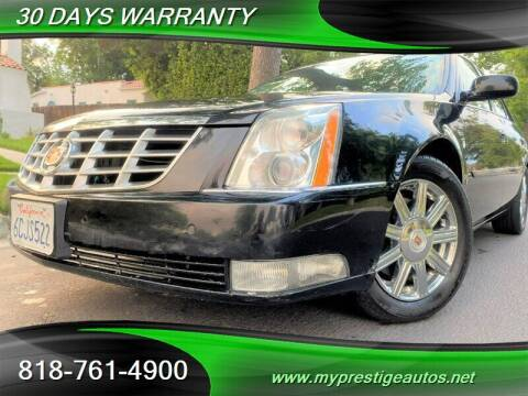 2008 Cadillac DTS for sale at Prestige Auto Sports Inc in North Hollywood CA