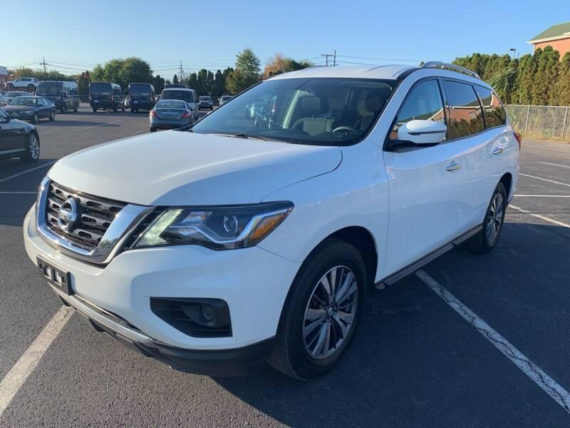 2017 Nissan Pathfinder for sale at MFT Auction in Lodi NJ