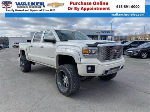 2015 GMC Sierra 1500 for sale at WALKER CHEVROLET in Franklin TN