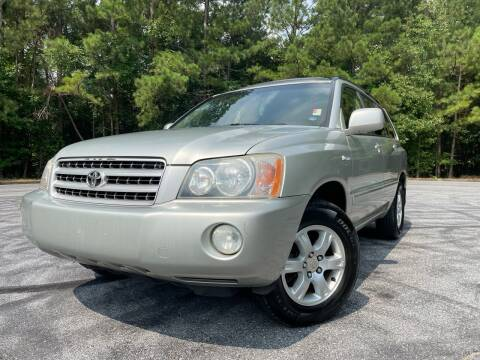 2003 Toyota Highlander for sale at Global Imports Auto Sales in Buford GA