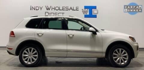2012 Volkswagen Touareg for sale at Indy Wholesale Direct in Carmel IN