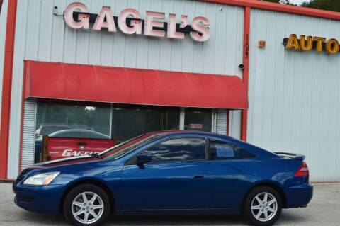 2003 Honda Accord for sale at Gagel's Auto Sales in Gibsonton FL