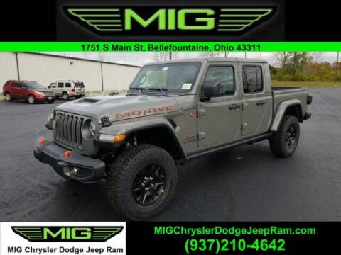 2021 Jeep Gladiator for sale at MIG Chrysler Dodge Jeep Ram in Bellefontaine OH