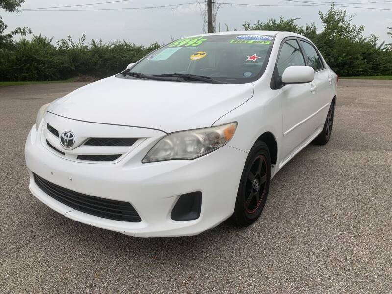 2011 Toyota Corolla for sale at Craven Cars in Louisville KY