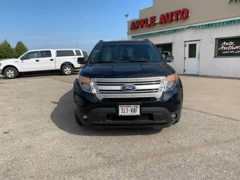 2014 Ford Explorer for sale at Apple Auto in La Crescent MN
