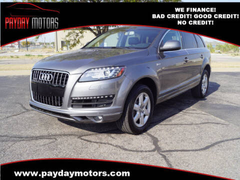 2015 Audi Q7 for sale at Payday Motors in Wichita And Topeka KS