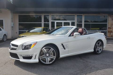 2016 Mercedes-Benz SL-Class for sale at Amyn Motors Inc. in Tucker GA
