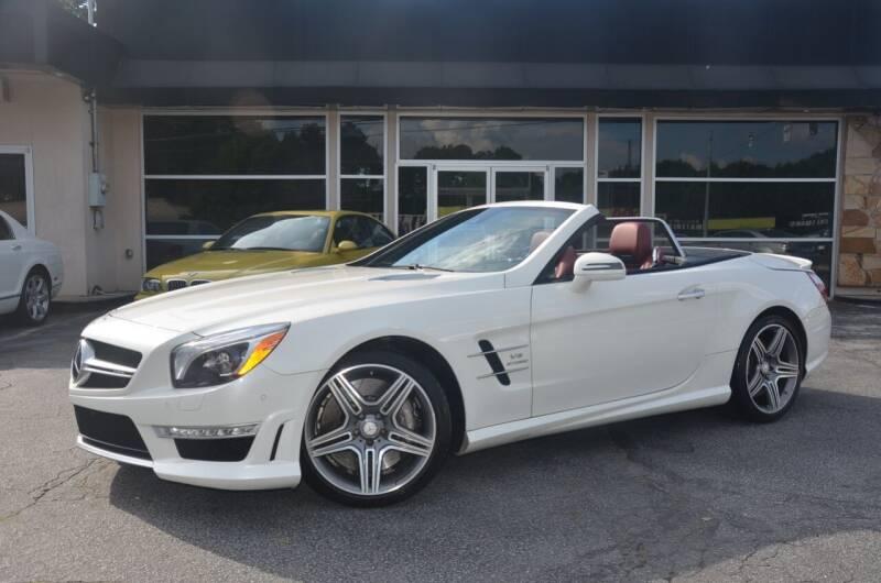 2016 Mercedes-Benz SL-Class for sale at Amyn Motors Inc. in Tucker GA
