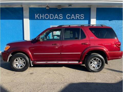 2007 Toyota Sequoia for sale at Khodas Cars in Gilroy CA