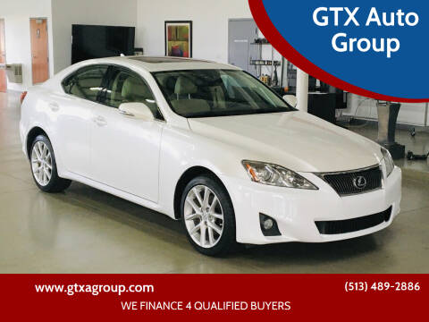 2011 Lexus IS 250 for sale at GTX Auto Group in West Chester OH