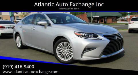 2018 Lexus ES 350 for sale at Atlantic Auto Exchange Inc in Durham NC