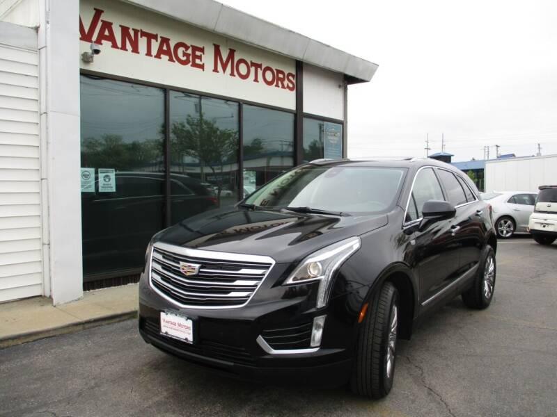 2017 Cadillac XT5 for sale at Vantage Motors LLC in Raytown MO