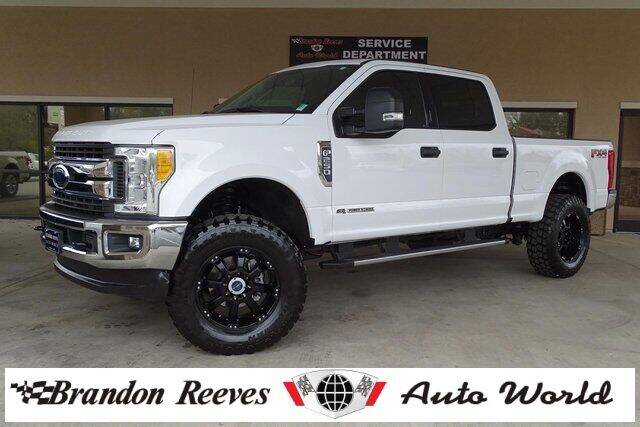 2017 Ford F-250 Super Duty for sale at Brandon Reeves Auto World in Monroe NC