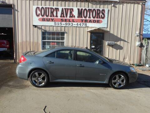 2009 Pontiac G6 for sale at Court Avenue Motors in Adel IA