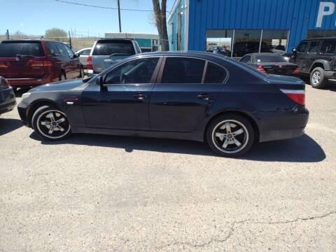 2008 BMW 5 Series for sale at PYRAMID MOTORS - Pueblo Lot in Pueblo CO
