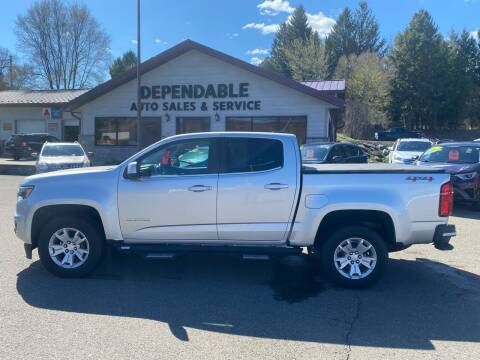 2017 Chevrolet Colorado for sale at Dependable Auto Sales and Service in Binghamton NY