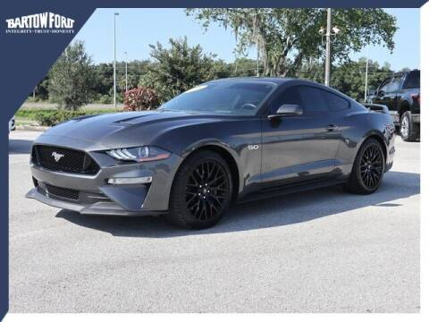 2019 Ford Mustang for sale at BARTOW FORD CO. in Bartow FL