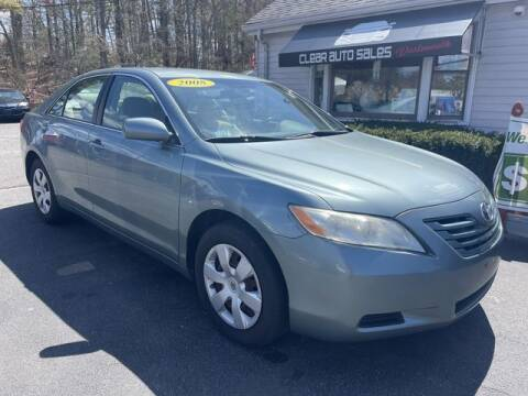 2008 Toyota Camry for sale at Clear Auto Sales 2 in Dartmouth MA