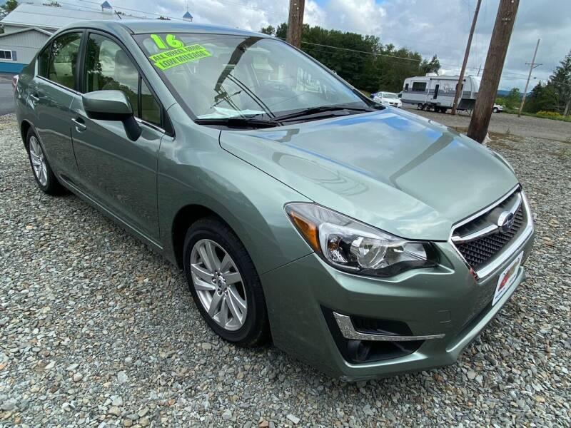 2016 Subaru Impreza for sale at ALL WHEELS DRIVEN in Wellsboro PA