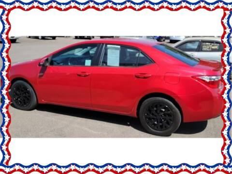 2014 Toyota Corolla for sale at American Auto Depot in Modesto CA