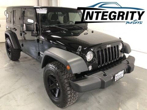 2016 Jeep Wrangler Unlimited for sale at Integrity Motors, Inc. in Fond Du Lac WI