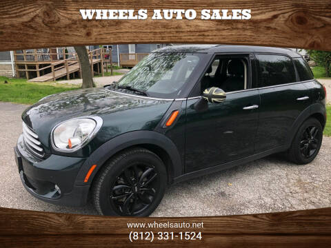 2013 MINI Countryman for sale at Wheels Auto Sales in Bloomington IN