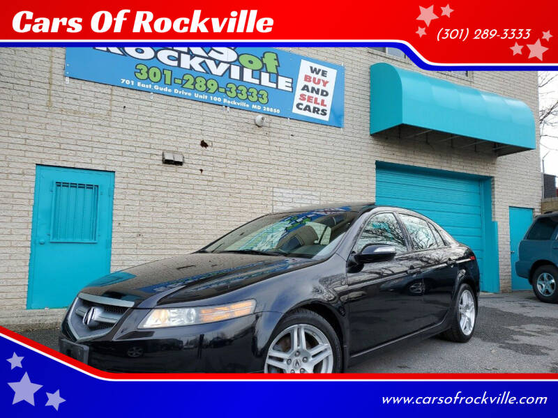 2007 Acura TL for sale at Cars Of Rockville in Rockville MD