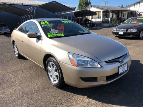 2004 Honda Accord for sale at Freeborn Motors in Lafayette, OR