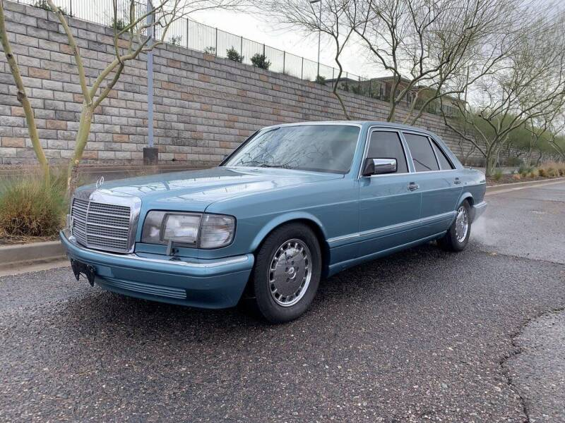 1991 Mercedes-Benz 420-Class for sale at AUTO HOUSE TEMPE in Tempe AZ