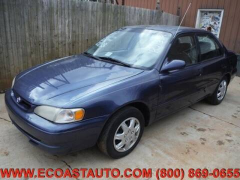 1999 Toyota Corolla for sale at East Coast Auto Source Inc. in Bedford VA