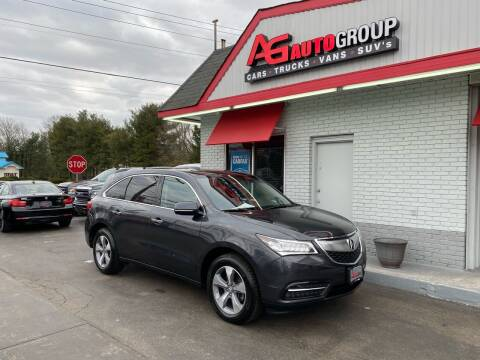 2015 Acura MDX for sale at AG AUTOGROUP in Vineland NJ