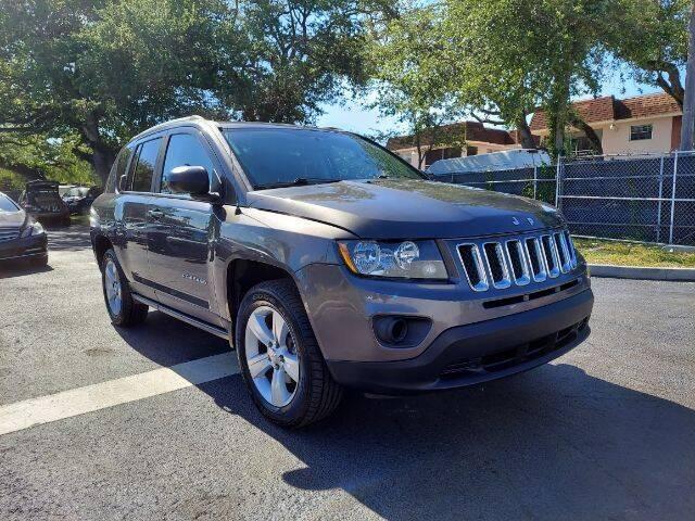 2016 Jeep Compass for sale at Start Auto Liquidation Center in Miramar FL