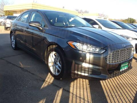 2016 Ford Fusion for sale at Auto Haus Imports in Grand Prairie TX