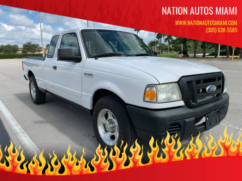 2008 Ford Ranger for sale at Nation Autos Miami in Hialeah FL