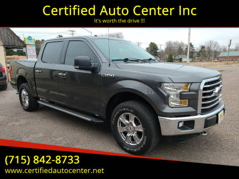 2016 Ford F-150 for sale at Certified Auto Center Inc in Wausau WI