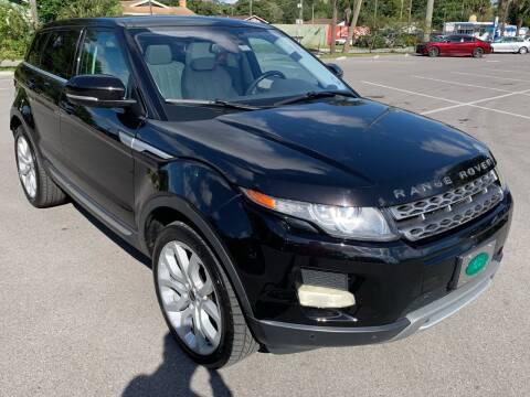 2012 Land Rover Range Rover Evoque for sale at Consumer Auto Credit in Tampa FL