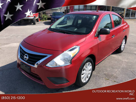 2015 Nissan Versa for sale at Outdoor Recreation World Inc. in Panama City FL
