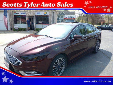 2017 Ford Fusion for sale at Scotts Tyler Auto Sales in Wilmington IL