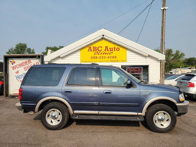 1998 Ford Expedition for sale at ABC AUTO CLINIC - Chubbuck in Chubbuck ID