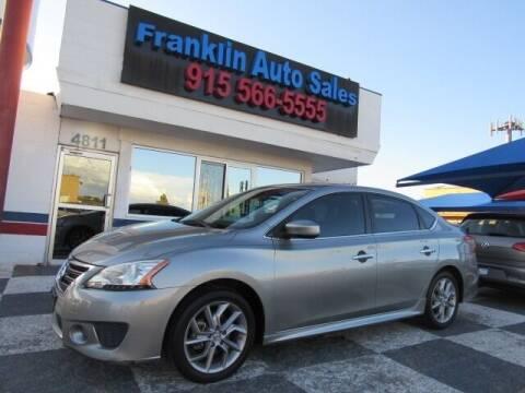 2014 Nissan Sentra for sale at Franklin Auto Sales in El Paso TX