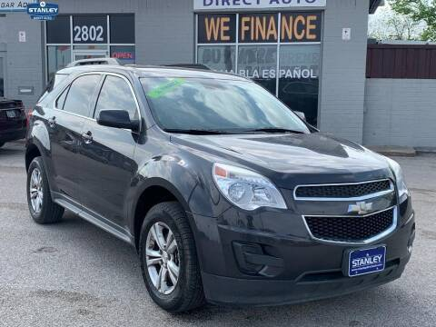 2015 Chevrolet Equinox for sale at Stanley Automotive Finance Enterprise - STANLEY DIRECT AUTO in Mesquite TX