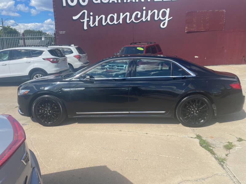 2017 Lincoln Continental for sale at MTA Auto in Detroit MI