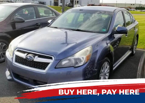 2013 Subaru Legacy for sale at Lancaster Auto Detail & Auto Sales in Lancaster PA