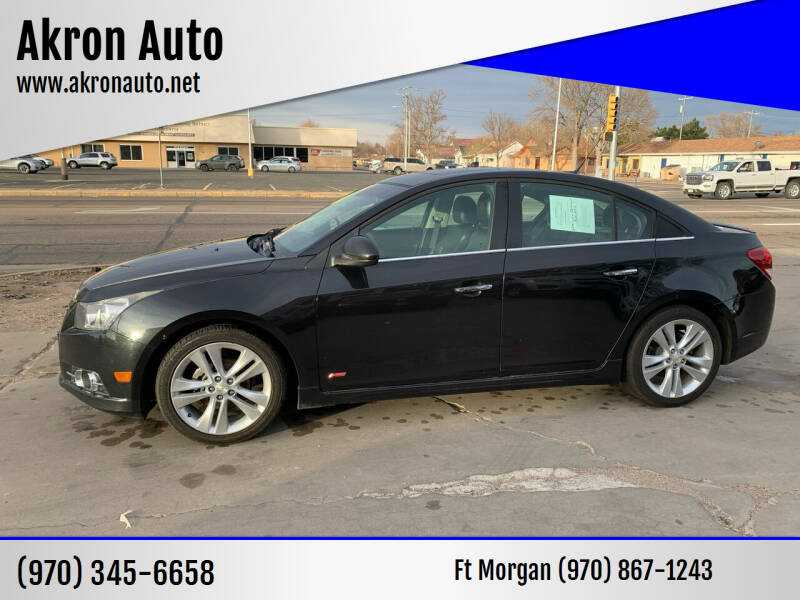 2014 Chevrolet Cruze for sale at Akron Auto - Fort Morgan in Fort Morgan CO