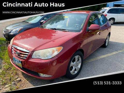 2010 Hyundai Elantra for sale at Cincinnati Auto Haus in Cincinnati OH