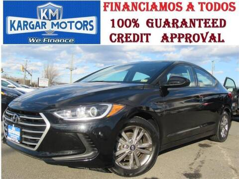 2017 Hyundai Elantra for sale at Kargar Motors of Manassas in Manassas VA