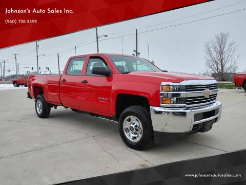 2016 Chevrolet Silverado 2500HD for sale at Johnson's Auto Sales Inc. in Decatur IN